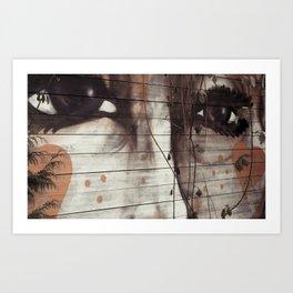 Graffity 4 Art Print
