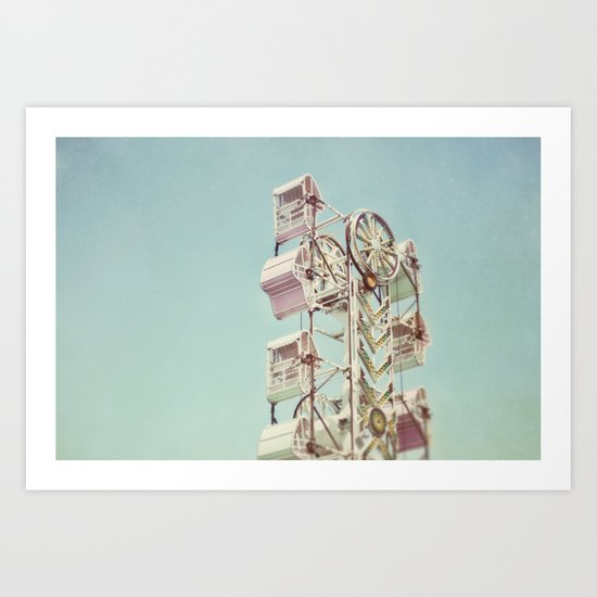 pastel carnival Art Print
