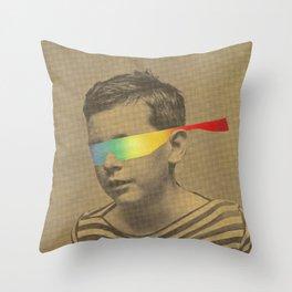Occhiali cromodimensionali Throw Pillow