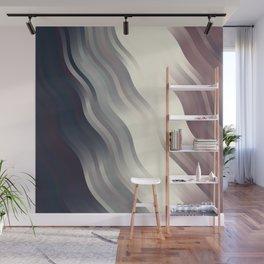 wavy lines pattern fn Wall Mural