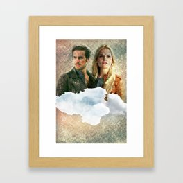 Captain Swan Framed Art Print