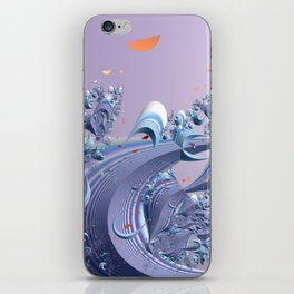 A breeze of spring iPhone Skin
