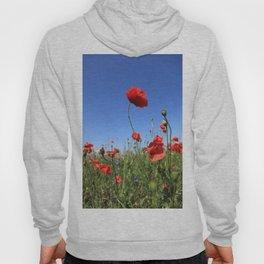 poppy flower no15 Hoody