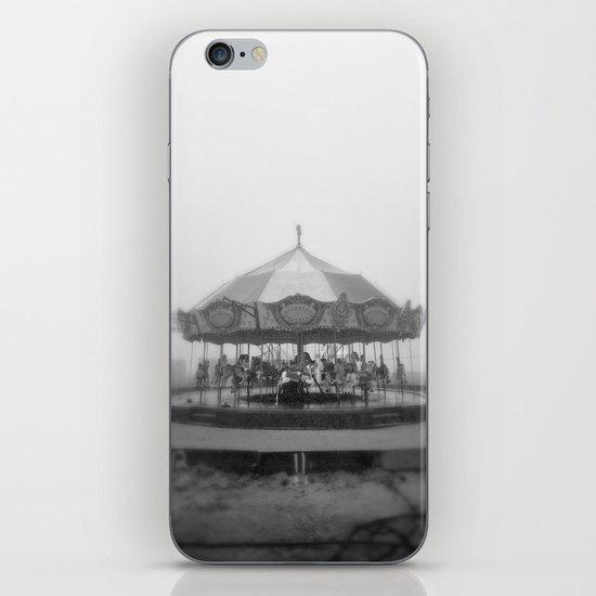 Silent Beach Park iPhone Skin