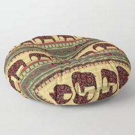 African motifs. Floor Pillow