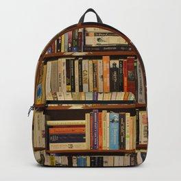 Bookshelf Books Library Bookworm Reading Backpack