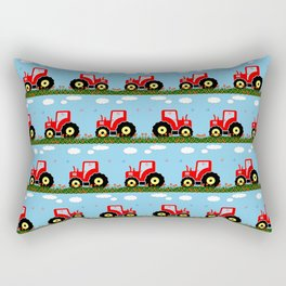 Toy tractor pattern Rectangular Pillow