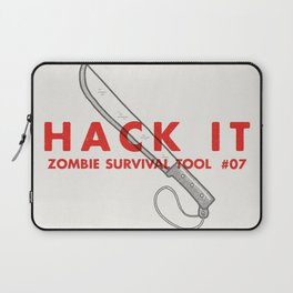 Hack it - Zombie Survival Tools Laptop Sleeve