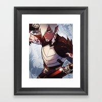 Little Wolf Framed Art Print