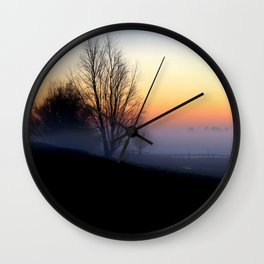 Failing Light Wall Clock