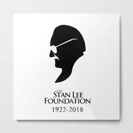 Stan Lee You were creative Metal Print