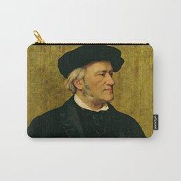 Richard Wagner (1813 – 1883) by Giuseppe Tivoli (b.1845) Carry-All Pouch