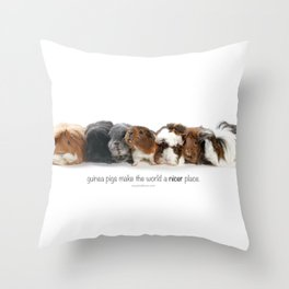 the Madness. Throw Pillow
