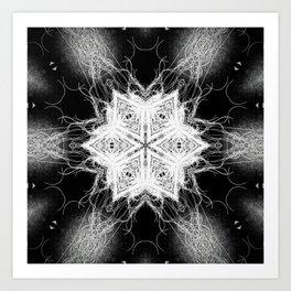 openwork 7 Art Print