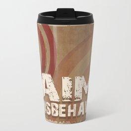Aim to Misbehave Travel Mug