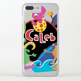 C-Monsta for Caleb Clear iPhone Case