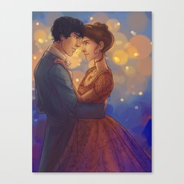 Can I have This Dance Canvas Print