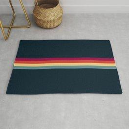 Ujizane - Classic Zeitgeist Retro Stripes Rug