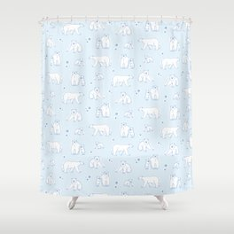 Just Chillin' Shower Curtain