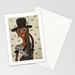 Miss Hat Lady Stationery Cards