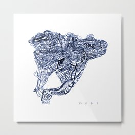 8 10 12 14 Metal Print