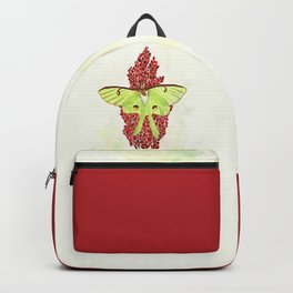 Luna Moth On Sumac Backpack