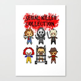 Serial Killer Collection Canvas Print