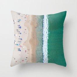 Shorebreak Throw Pillow