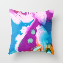Bits and Bobs Throw Pillow