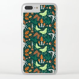 Nordic Forest Clear iPhone Case