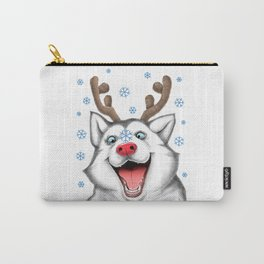 Husky Rudolph Carry-All Pouch
