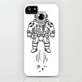 Cosmic Stranger 1 iPhone Case