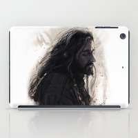 thorin iPad Cases featuring Mixed Media - Thorin by LindaMarieAnson