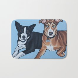 Lola and Rocco Bath Mat