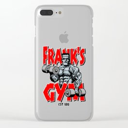 Frank's Gym Clear iPhone Case