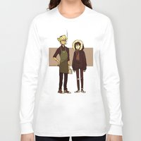 durarara Long Sleeve T-shirts featuring Kids These Days by rhymewithrachel