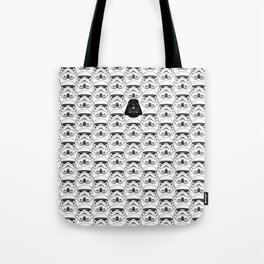 Stormtrooper pattern Tote Bag