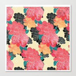 China floral Canvas Print