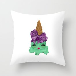 Sativa  Diva Throw Pillow
