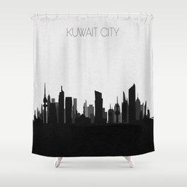City Skylines: Kuwait City Shower Curtain