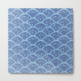 Mosaic Archs Metal Print