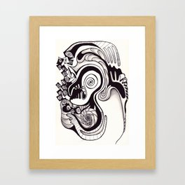 Stress. Framed Art Print