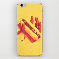 Long Fingers (hot dog version) iPhone & iPod Skin