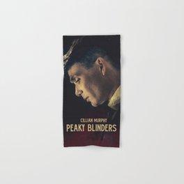 Peaky Blinders, Cillian Murphy, Thomas Shelby, BBC Tv series, gangster family Hand & Bath Towel