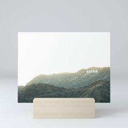 Travel photography A way to Hollywood II Mini Art Print