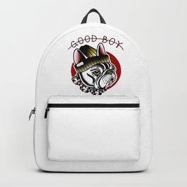 Good Boy French Bulldog Backpack