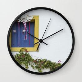 Colonial Window Wall Clock