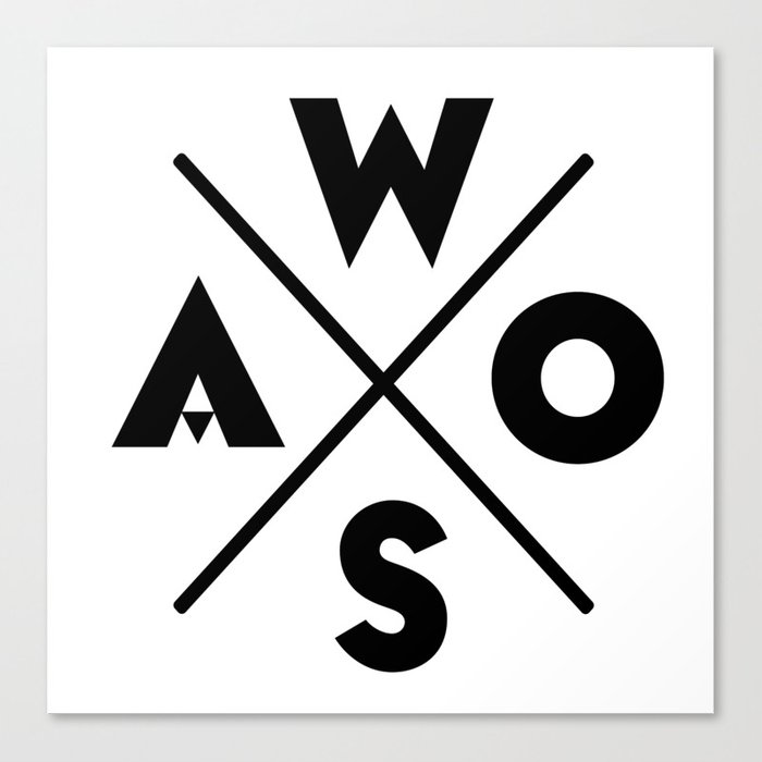 WOSA - World of Street Art Canvas Print