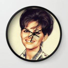 Claudia Cardinale, Vintage Actress Wall Clock