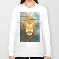 kangaroo Long Sleeve T-shirts featuring Kangaroo by Janice